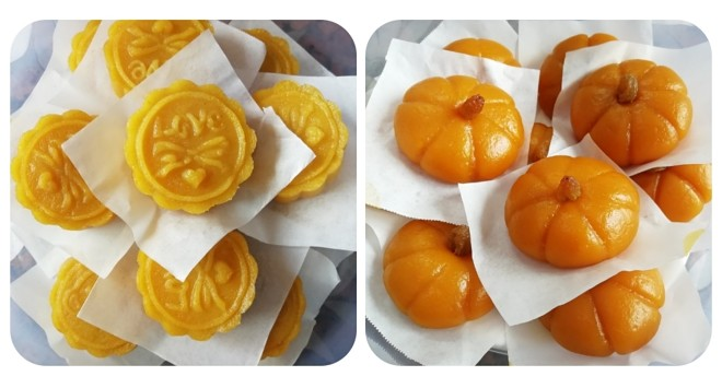 Healthy and delicate not suffer from excessive internal heat, old little all the way that & adds the gold pumpkin moon cake of appropriate not to need mould pumpkin cake to press beautiful video
