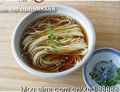 The practice measure of noodles in a simple sauce 6