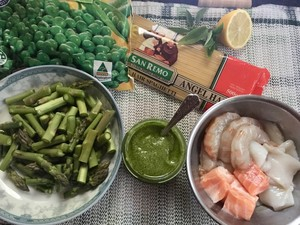 The practice measure of side of meaning of seafood green sauce 1