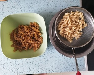 The practice measure of macaroni of low fat Italy 5