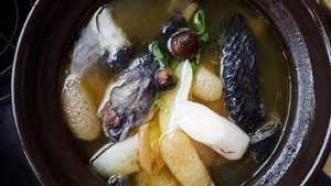 The practice move that how makes chicken broth of simple and delicate black 3