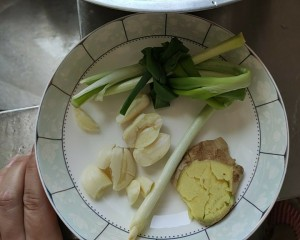 Accordingly old wide the practice measure that learns to do gallinaceous ~ to need green ginger garlic only 1
