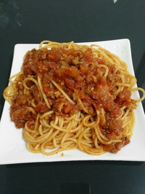 The practice measure of side of meaning of tomato meat sauce 5